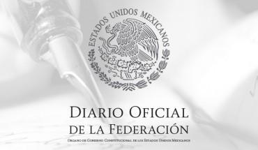Diario Oficial de la Federación, abril 22 de 2019 - AIEVAC